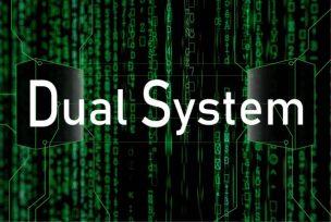 デュアルシステムをイメージしたアイキャッチ