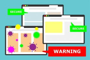 危険なwebサイトをイメージしたアイキャッチ